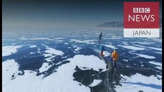 世界一過酷な耐久レース ロシア・バイカル湖の氷上200キロ