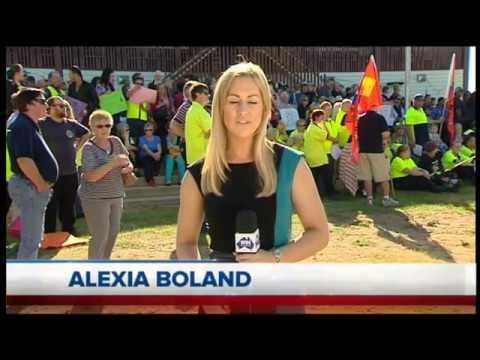 WIN News Shepparton - SPC Ardmona - Alexia Boland Reporting