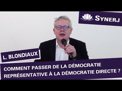 """""""Comment passer de la démocratie représentative à la démocratie directe"""" par Loïc Blondiaux"""