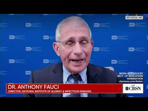Dr Anthony Fauci vaccine short