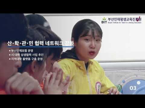 부산인재평생교육진흥원 홍보영상(인재육성 영역 홍보 영상)