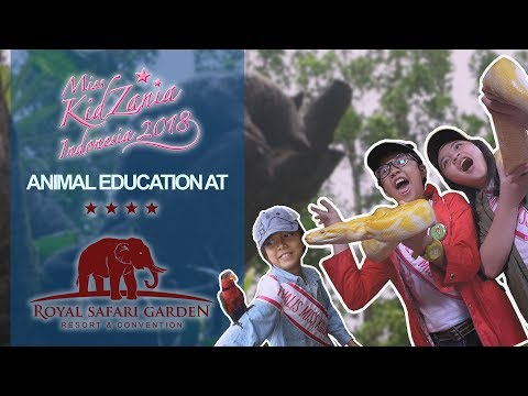 Miss KidZania Indonesia 2018: Animal Education at Royal Safari Garden