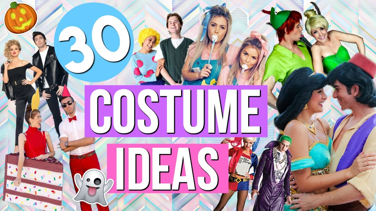 30 Couple Halloween Costume Ideas! Last Minute Costume Ideas 2016!
