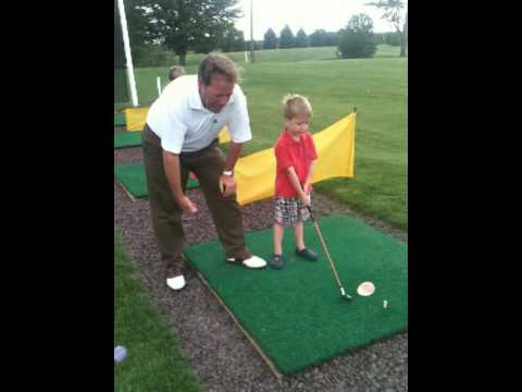 How To Teach Your Kids How To Play Golf!