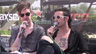 The 1975 Interview - KROQ Party House At Coachella 2014