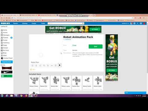 Roblox Free Animation Robot Syafiqcr12 Get Free Robot Animation Pack Roblox Youtube