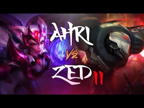 AHRI PENTAKILL!? - AHRI vs Zed II - League of Legends Commentary