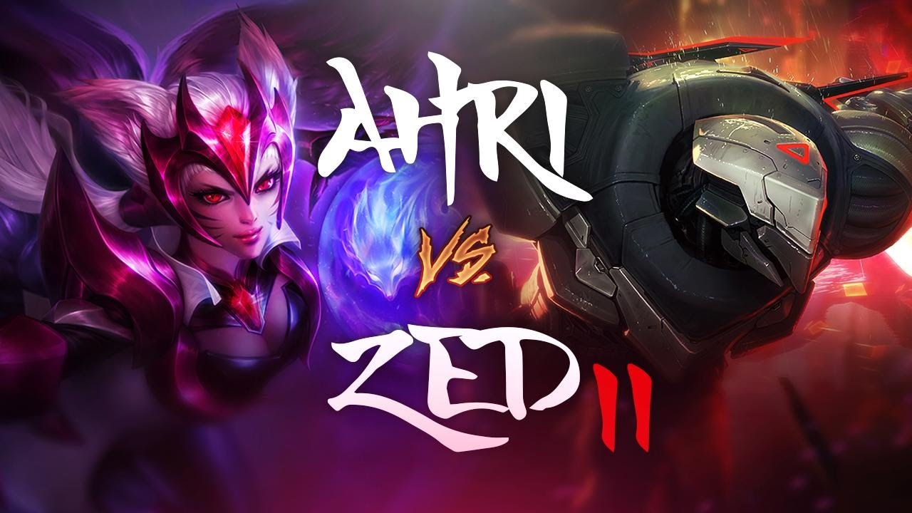 AHRI vs Zed II - League of Legends Commentary