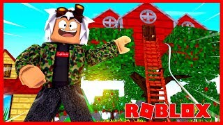 I BUILD MY OWN HOUSE-ARBOL ROBLOX