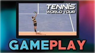 Tennis World Tour | John McEnroe VS Andre Agassi