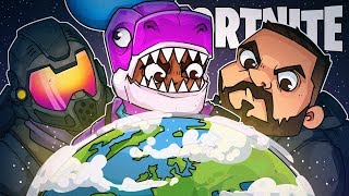 Around The World Challenge! Win On Every Server! - Fortnite