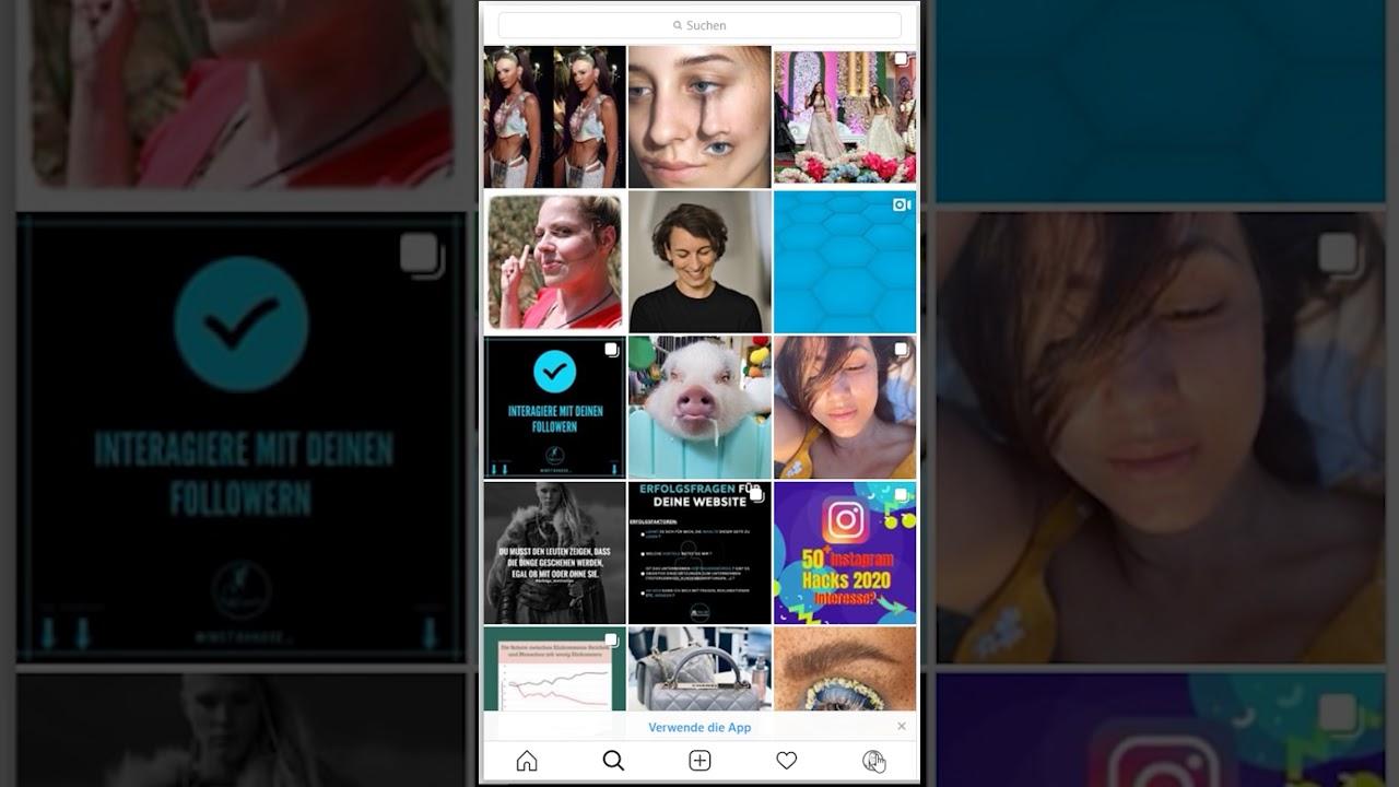 Eigenen Instagram Hashtag erstellen - YouTube