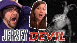I SAW THE JERSEY DEVIL IN THE WOODS! SO SCARED!