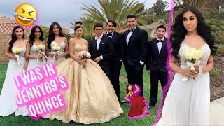 I WAS IN JENNY69'S QUINCE!! 🥳💃🏻