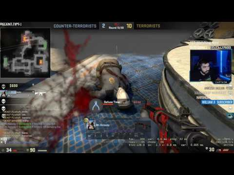 Ninja Fail | Is This How You Smoke? | CS GO Highlights