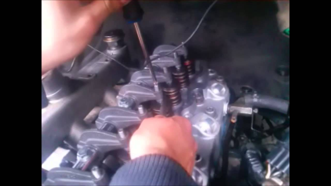 Calibraci 211 N De V 193 Lvulas Motor Diesel Hyundai Youtube
