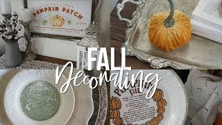 Starting my fall decorating! Decorate with me 2019