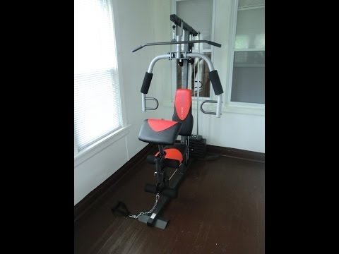 How to Assemble WEIDER 2980 X Weight System
