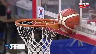 打籃球最尷尬的時候 韓國職業選手真的很厲害