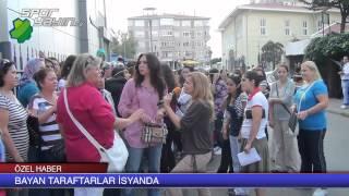 Fenerbahçeli bayan taraftarlar isyanda Günün Spor Haberleri
