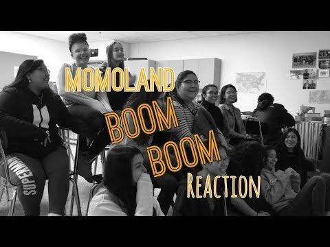 High Schoolers React to Momoland - Bboom BBoom MV