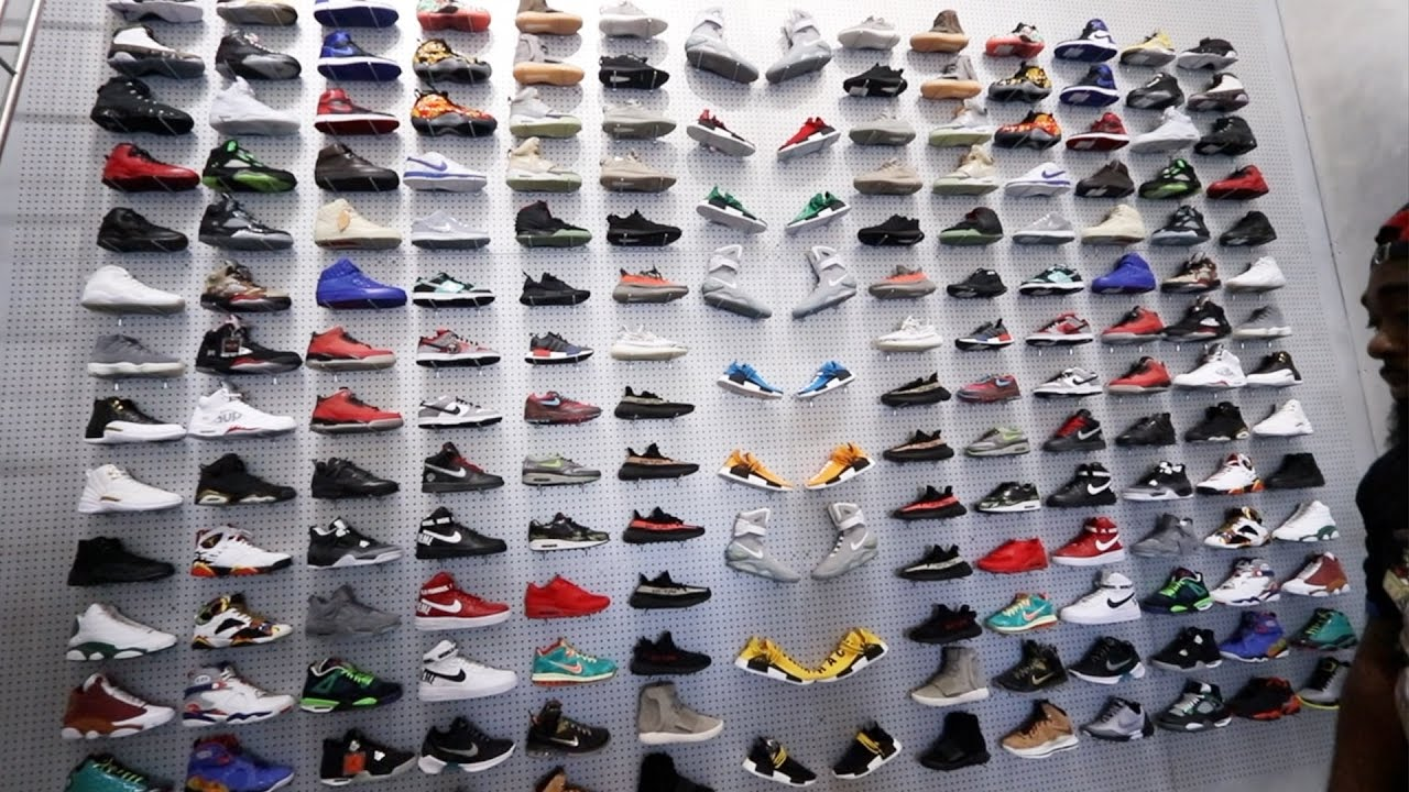 SNEAKER SHOPPING FOR YEEZYS AT NEW CRAZY SNEAKER STORE ...