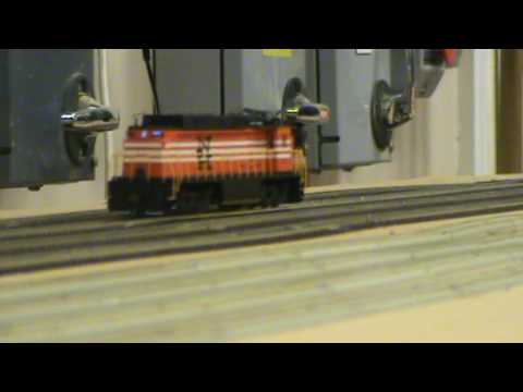 New Haven Electric runs on the tracks at Perth Green Model Railway club