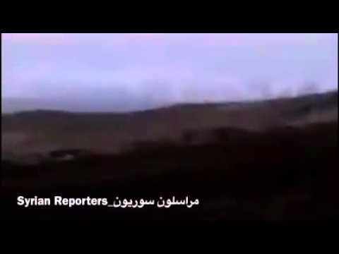 Grad missile bombardment on Militant positions in the Al Ghab plain, N Hama 25/11/2015