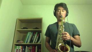 Green Day - Boulevard of Broken Dreams alto sax cover