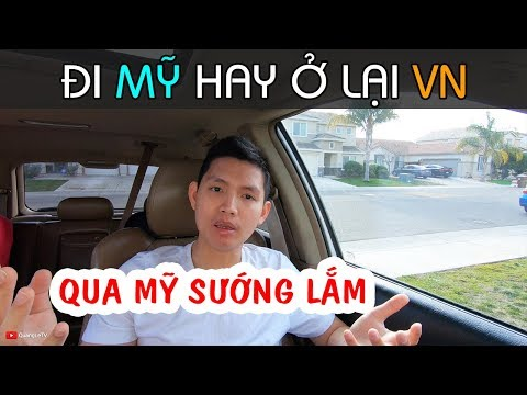 NÊN ĐI MỸ HAY Ở LẠI VIỆT NAM | Sự Thật Cuộc Sống Mỹ | Quang Lê TV #206