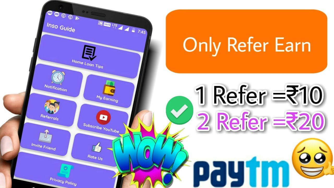 best self earning app refer and earn paytm cash tamil | No1 Tamil