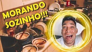MEU PRIMEIRO DIA MORANDO SOZINHO!!