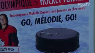 Connecté Valleyfield - Mélodie Daoust et la finale Olympique à Pyeonchang!