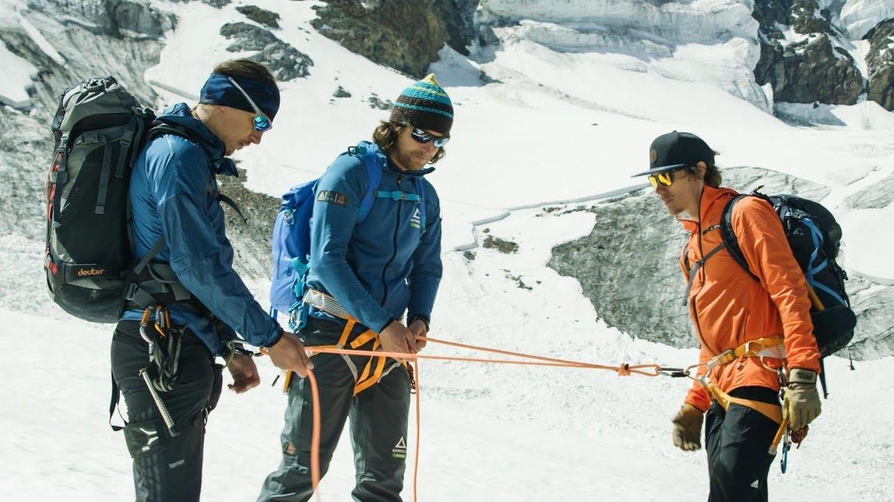 Klettergurt Für Gletscher : Anseilen auf dem gletscher youtube