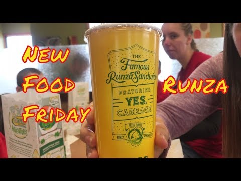 New Food Friday | Runza in Grand Island Nebraska