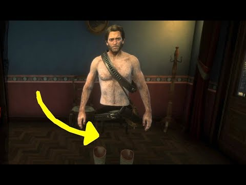 Invisible Legs in Red Dead Redemption 2 (RDR2): Explore Bath Room