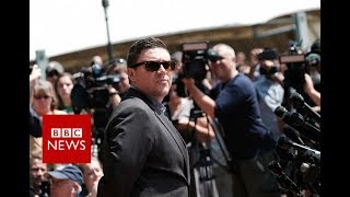 'Unite the Right' organiser Jason Kessler chased away by protesters - BBC News