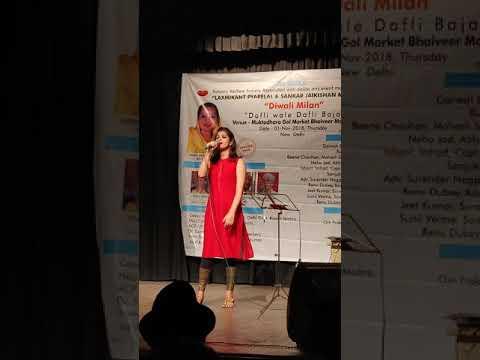 Hasta hua noorani chehra | Live performance | Neha Jad