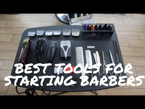 Best Tools For Beginning  Barbers - Best Clippers For Beginner Barbers | My Favorite Barber Tools