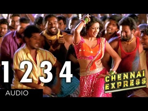 Chennai Express Full Song One Two Three Four 1234  Shahrukh Khan, Deepika Padukone