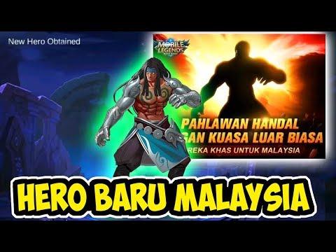 HERO BARU ASAL MALAYSIA BADANG BAKAL MUNCUL TANGANYA BESI GAGAH - MOBILE LEGENDS INDONESIA