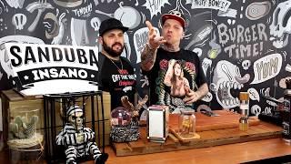Hamburguer Caseiro com Maionese caseira e Cebola Caramelizada - Sanduba Insano thumbnail