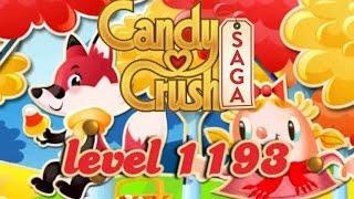 Candy Crush Saga Level 1193 - ★★★