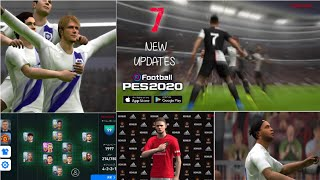 7 New Updates in PES 20 Mobile