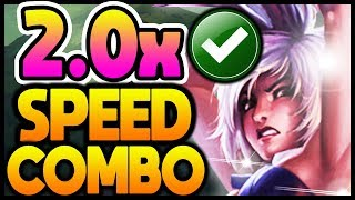 How to Riven Fast Combo PERFECTLY Like a PRO! - Riven Fast Combo Guide | League of Legends