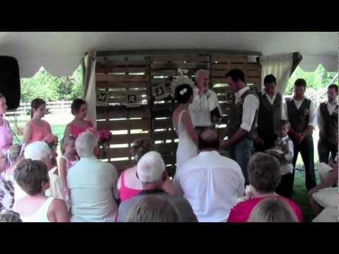 ian and hana s backyard wedding