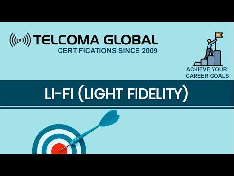 Li-Fi (Light Fidelity) wireless communication technology course by TELCOMA Training