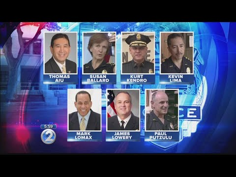 Honolulu Police Commission announces 7 finalists for next chief of police