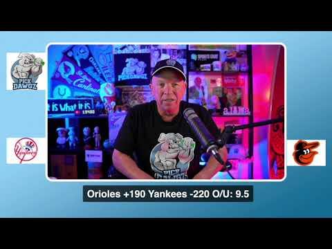 New York Yankees vs Baltimore Orioles Free Pick 9/6/20 MLB Pick and Prediction MLB Tips