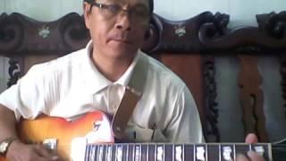 Guitar bài Trăng về thôn dã